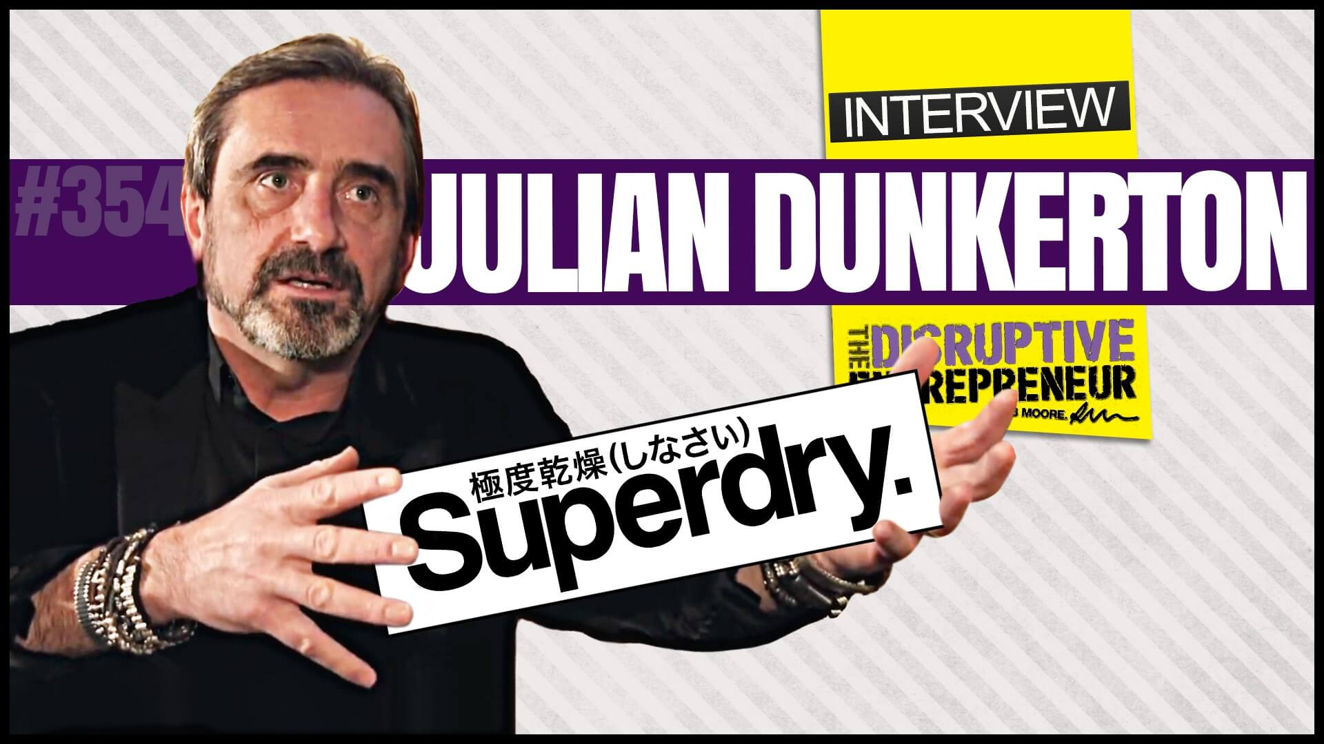 Interview with Julian Dunkerton, the Co-Founder of Superdry